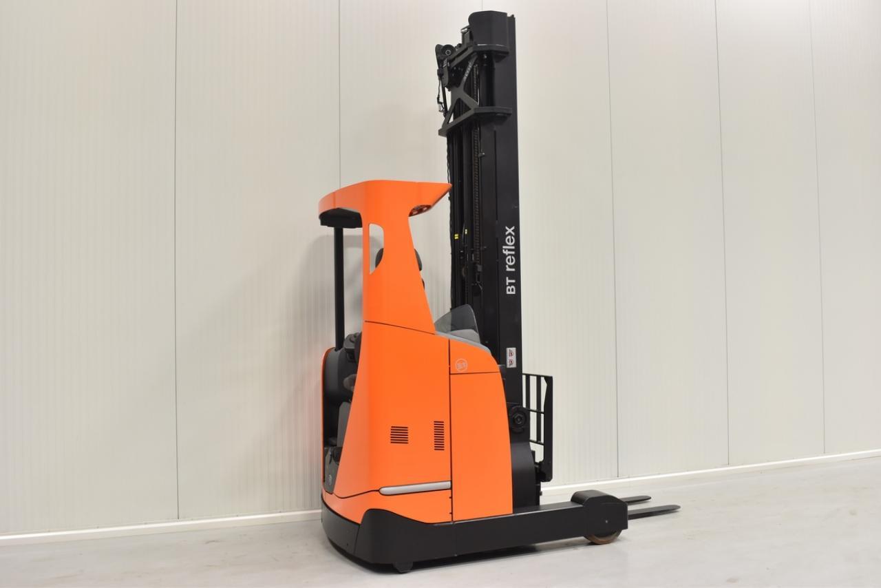 Xe nâng điện BT RRE 160 E đứng lái 1.6 tấn 2012
