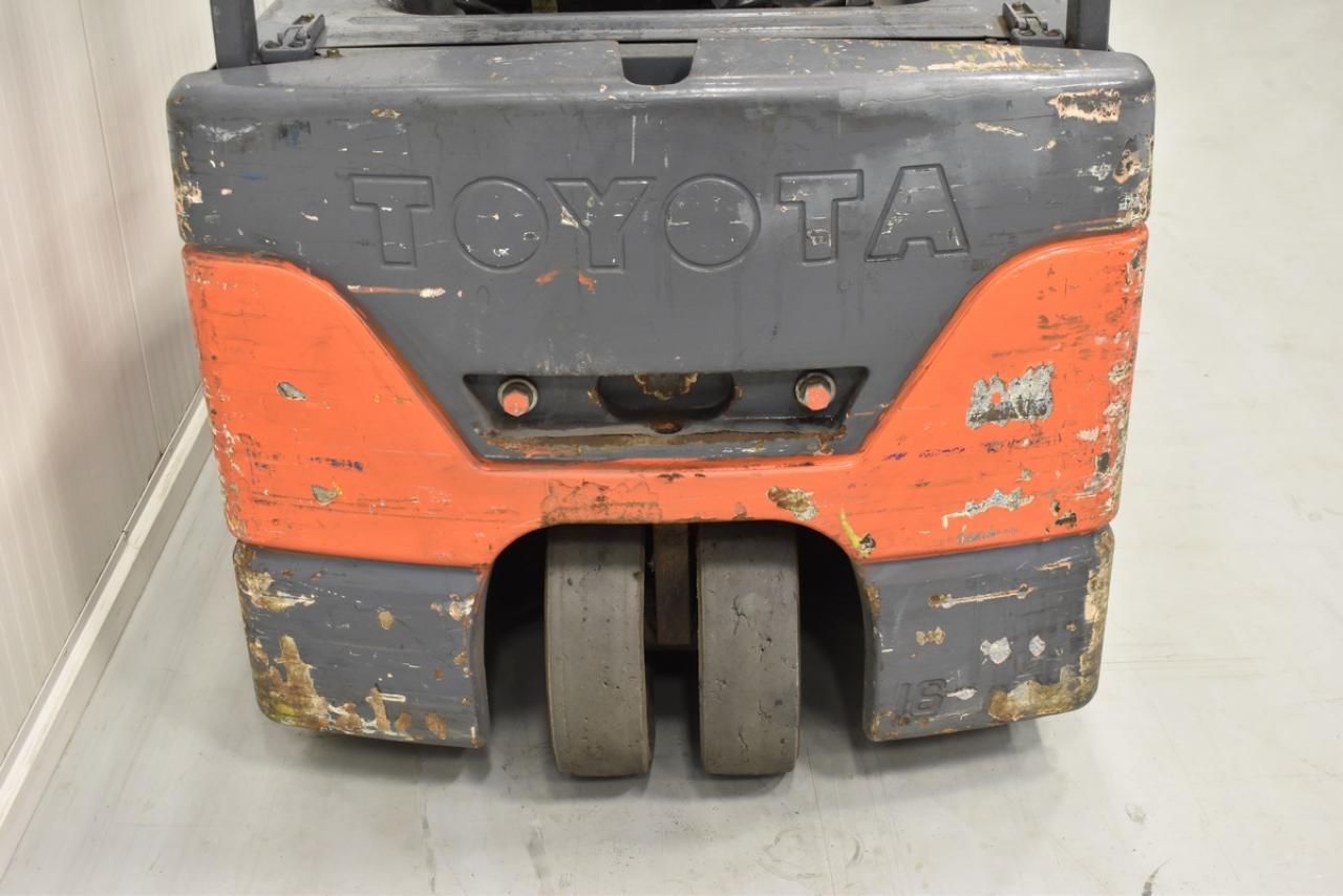 Xe nâng điện TOYOTA 7FBEF16, 2004 1.6