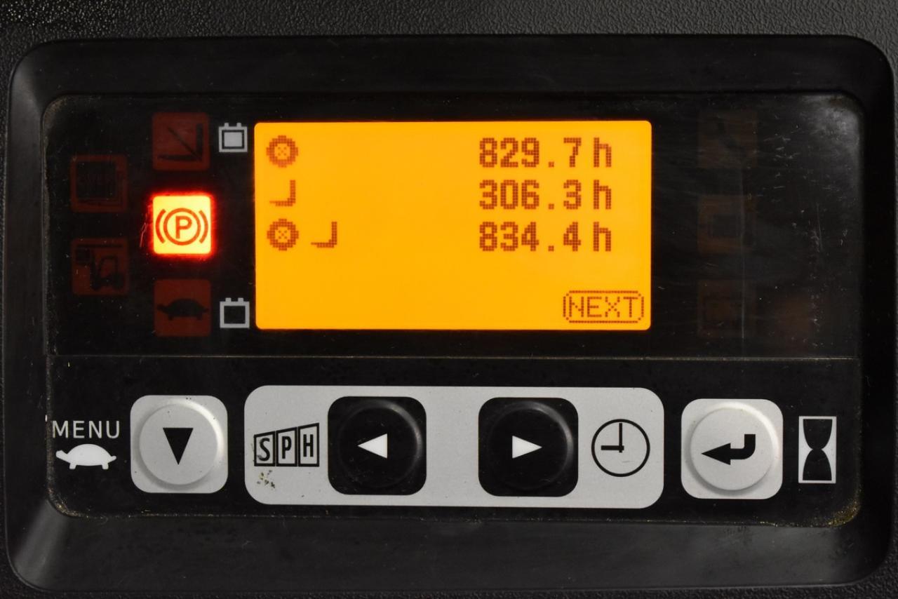 Xe nâng điện TOYOTA 8FBET16, 1.6 tấn 2014