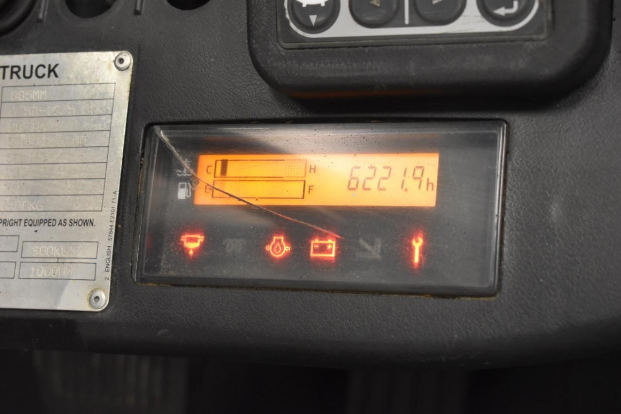 Xe nâng dầu TOYOTA 02-8FDF15, 2012, 1,5 tấn